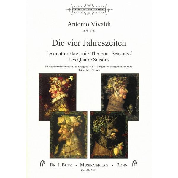 Vivaldi, Antonio - The Four Seasons (Organ)