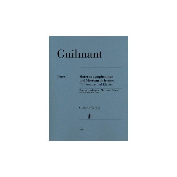 Guilmant, Felix Alexandre - Morceau symphonique Opus 88 und Morceau de lecture à vue
