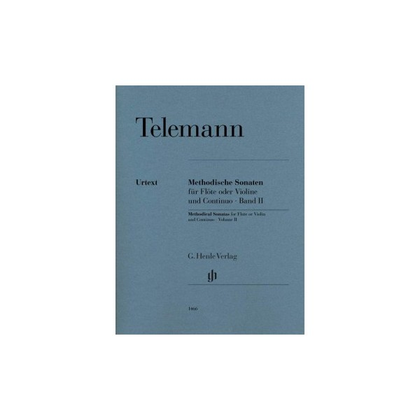 Telemann, Georg Philipp - Methodical Sonatas