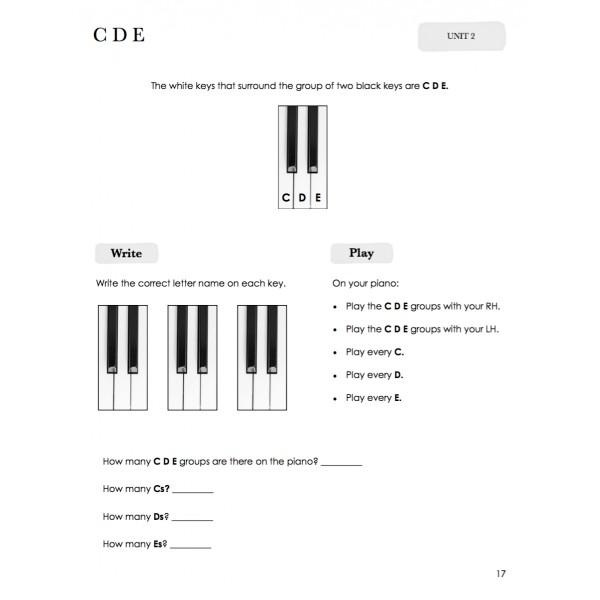 Piano Safari: Theory Book 1