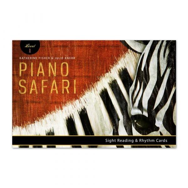 Piano Safari: Sight Reading & Rhythm Cards 1