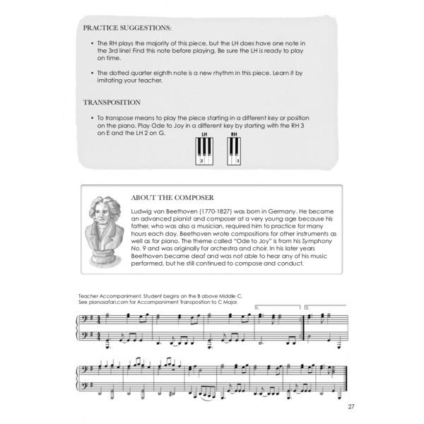 Piano Safari: Older Beginner Repertoire & Technique 1