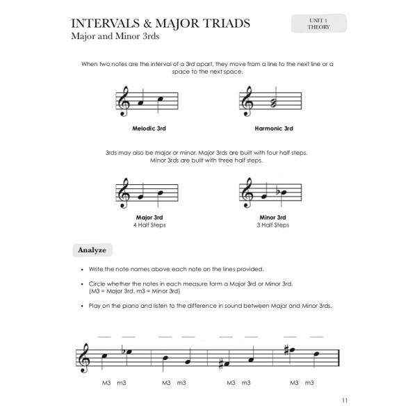 Piano Safari: Older Beginner Sight Reading & Theory 2