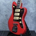 Revelation RJT60B - Baritone Guitar - Fiesta Red