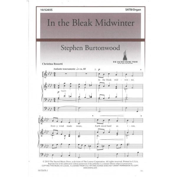 Burtonwood, Stephen - In the Bleak Midwinter