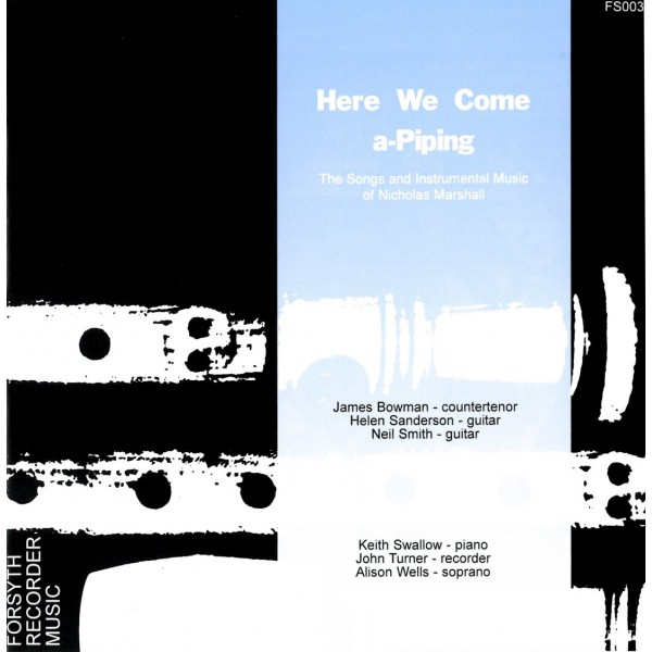 Here We Come A-Piping - Various