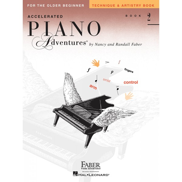 Accelerated Piano Adventures for the Older Beginner - Technique & Artistry Book 2