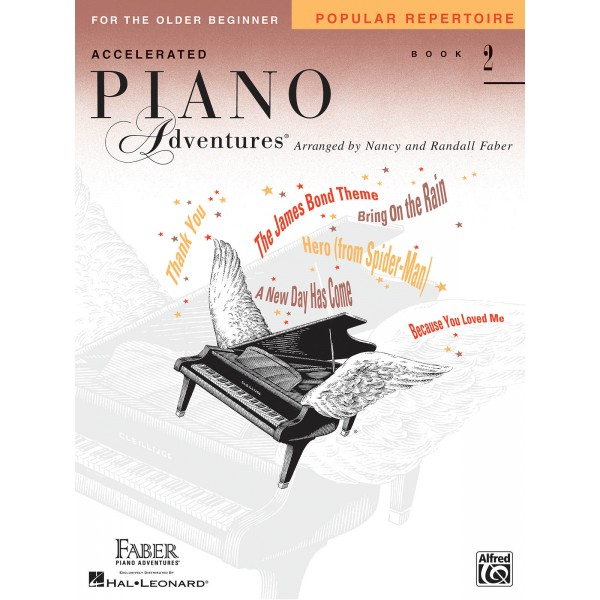 Accelerated Piano Adventures for the Older Beginner - Popular Repertoire Book 2