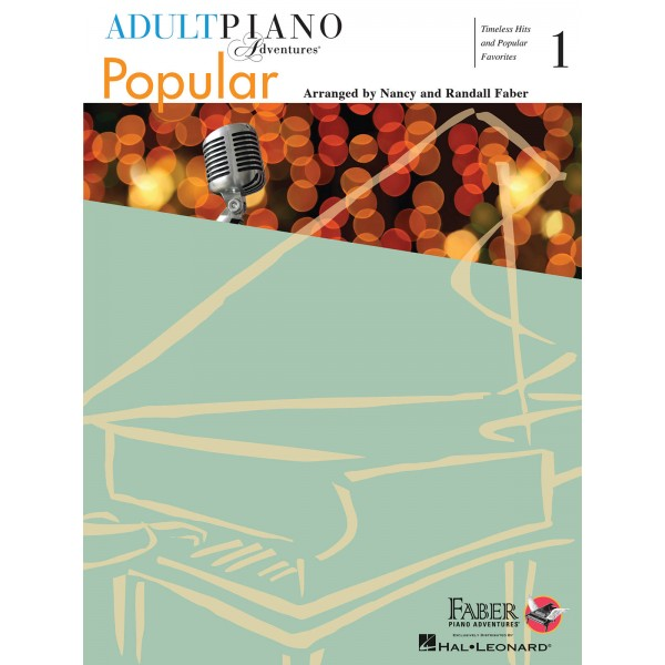 Adult Piano Adventures - Popular Book 1