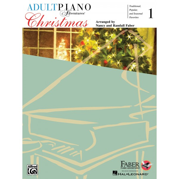 Adult Piano Adventures - Christmas Book 1