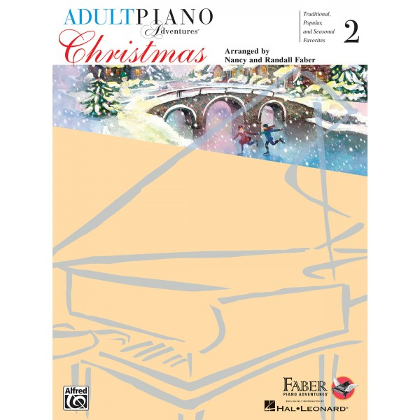 Adult Piano Adventures - Christmas Book 2