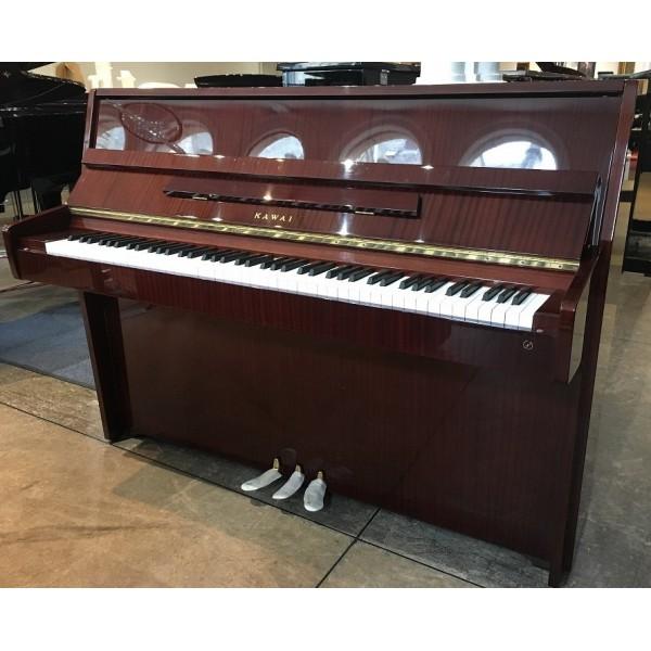Kawai CE7 Upright Piano in Mahogany Polish