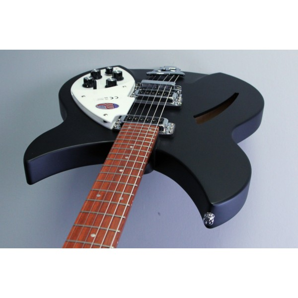 Rickenbacker 330 Matt Black electric guitar