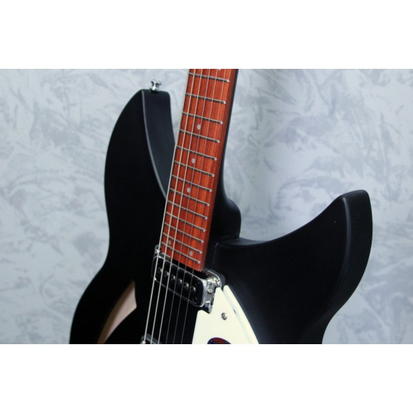 Rickenbacker 330 Matt Black electric guitar