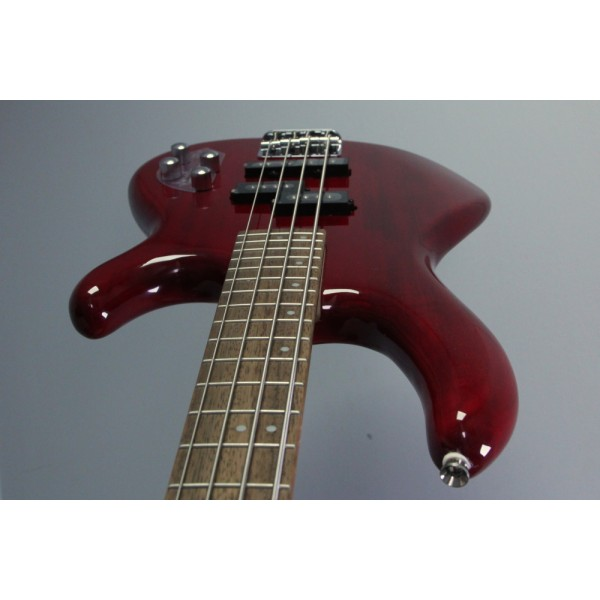 Cort Action Plus Active Bass Trans Red