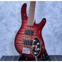 Cort Action Deluxe Plus Active Bass Cherry Red Sunburst