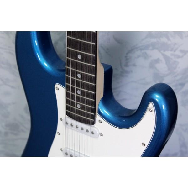Aria STG-003 Electric Guitar Metallic Blue