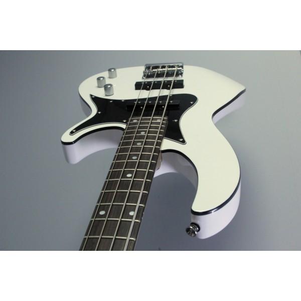 Aria RSB-516 Bass Guitar White