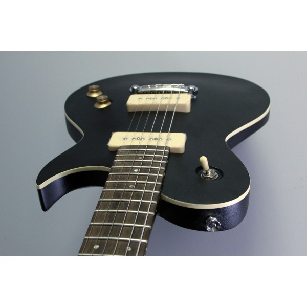 Aria Pro II Electric Guitar with P90s Black