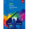 ABRSM More Piano Sight-Reading - Grade 6 (six)