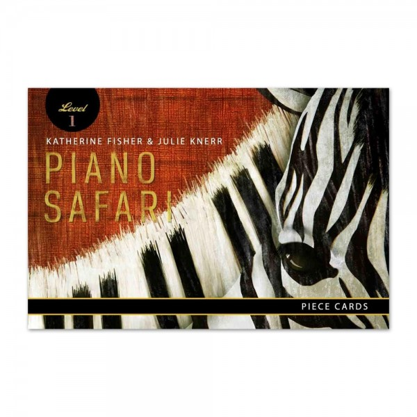 Piano Safari - Piece Cards 1