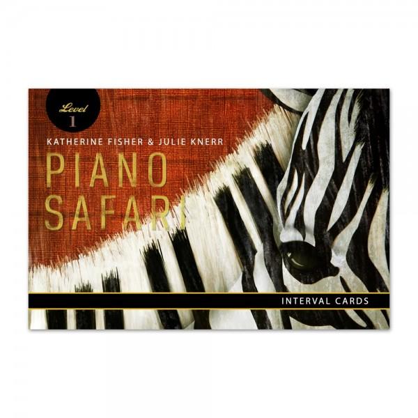 Piano Safari - Interval Cards