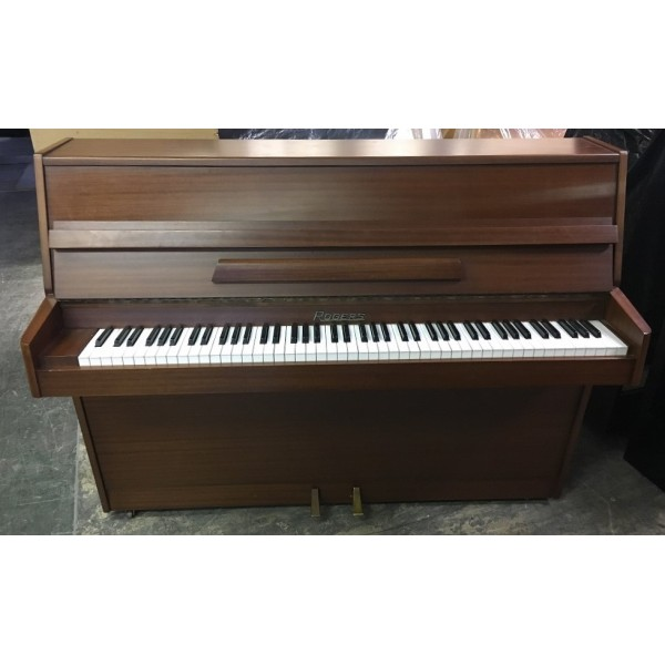 Rogers Upright Piano in Walnut Satin