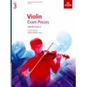 ABRSM Violin Exam Pieces 2020-2023 - Grade 3 (Three), Part Only