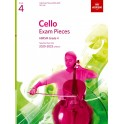 Cello Exam Pieces 2020-2023, ABRSM Grade 4, Part - Selected from the 2020-2023 syllabus