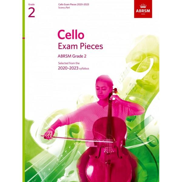 Cello Exam Pieces 2020-2023, ABRSM Grade 2, Score & Part - Selected from the 2020-2023 syllabus