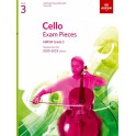 Cello Exam Pieces 2020-2023, ABRSM Grade 3, Score & Part - Selected from the 2020-2023 syllabus
