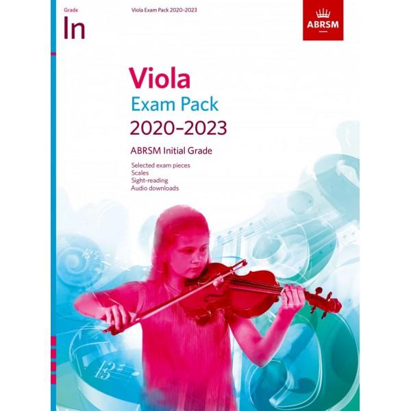 ABRSM Initial Grade Viola Exam Pack 2020-2023