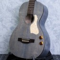 Art and Lutherie Roadhouse Parlour Acoustic Guitar Denim EQ