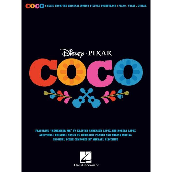 Disney Pixar's Coco (Piano, Vocal & Guitar)