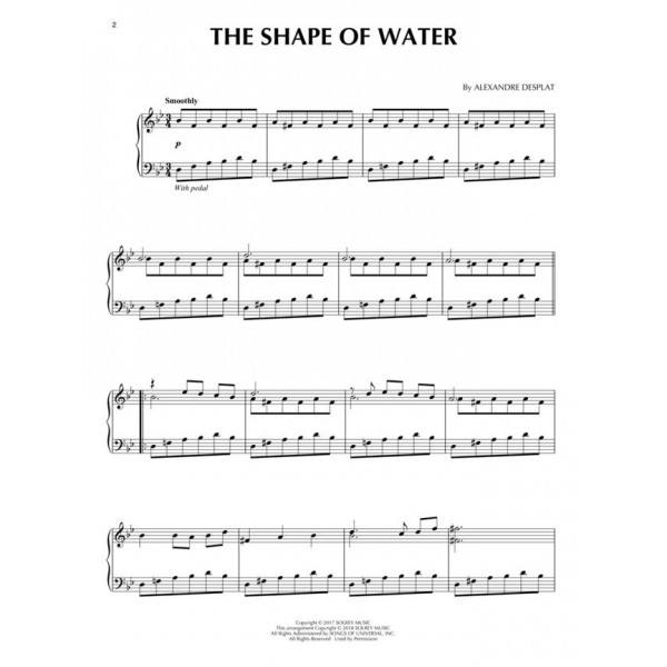 The Shape of Water (Piano Solo)