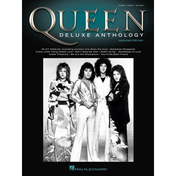 Queen - Deluxe Anthology (Piano, Vocal & Guitar)