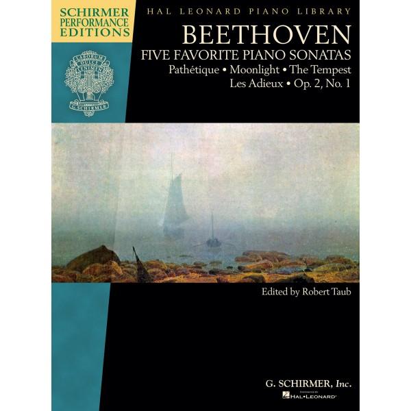 Five Favourite Beethoven Piano Sonatas