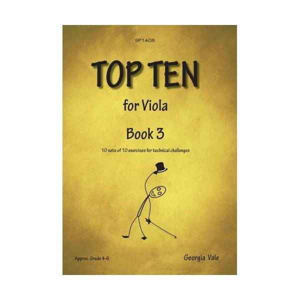 Vale, Georgia - Top Ten Book 3 (Viola Studies)