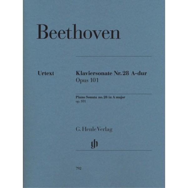 Beethoven - Piano Sonata No. 28 in A major Op. 101