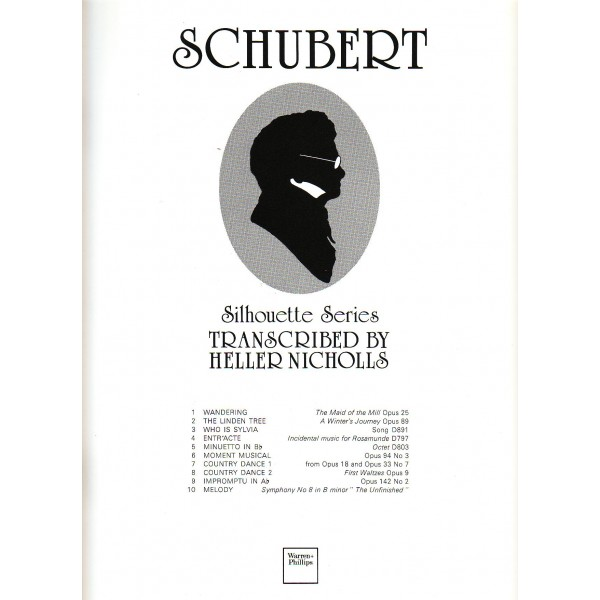 Schubert - Schubert, Franz: Nichols, Heller
