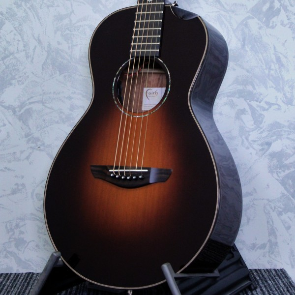 Faith Mercury Scoop Sunburst 45mm Acoustic Guitar