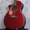Fender Newporter Player Candy Apple Red Left Handed Acoustic Guitar