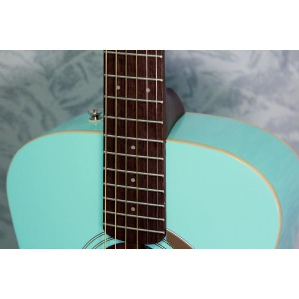 Fender Malibu Player Aqua Splash