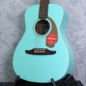 Fender Malibu Player Aqua Splash Acoustic Guitar