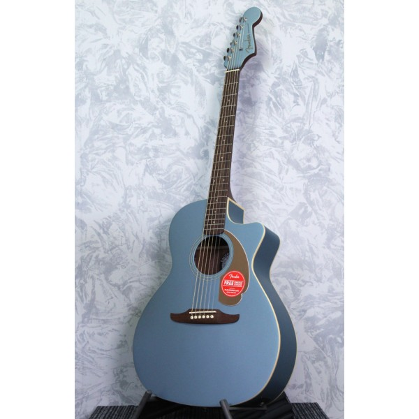 Fender Newporter Player Ice Blue Acoustic Guitar