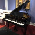 SOLD: Pre-owned Yamaha C3 grand piano in black polyester