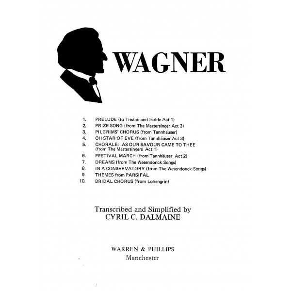 Wagner - Wagner, Richard: Dalmaine, Cyril