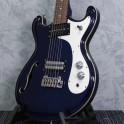 Danelectro 66T Baritone Electric Guitar Trans Blue