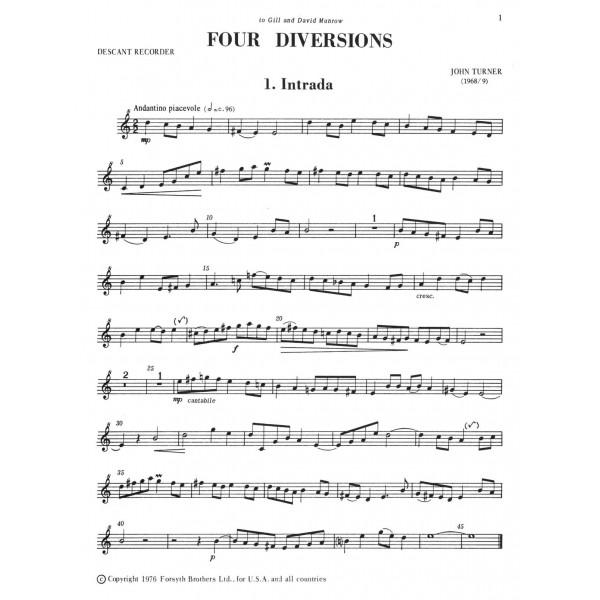Turner, John - Four Diversions