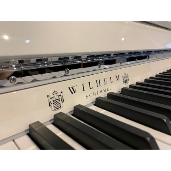 Wilhelm Schimmel W114M Modern in White Polyester